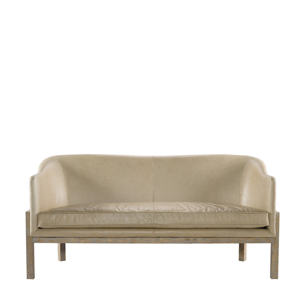 Curations Limited Lucerne Leather Sofa