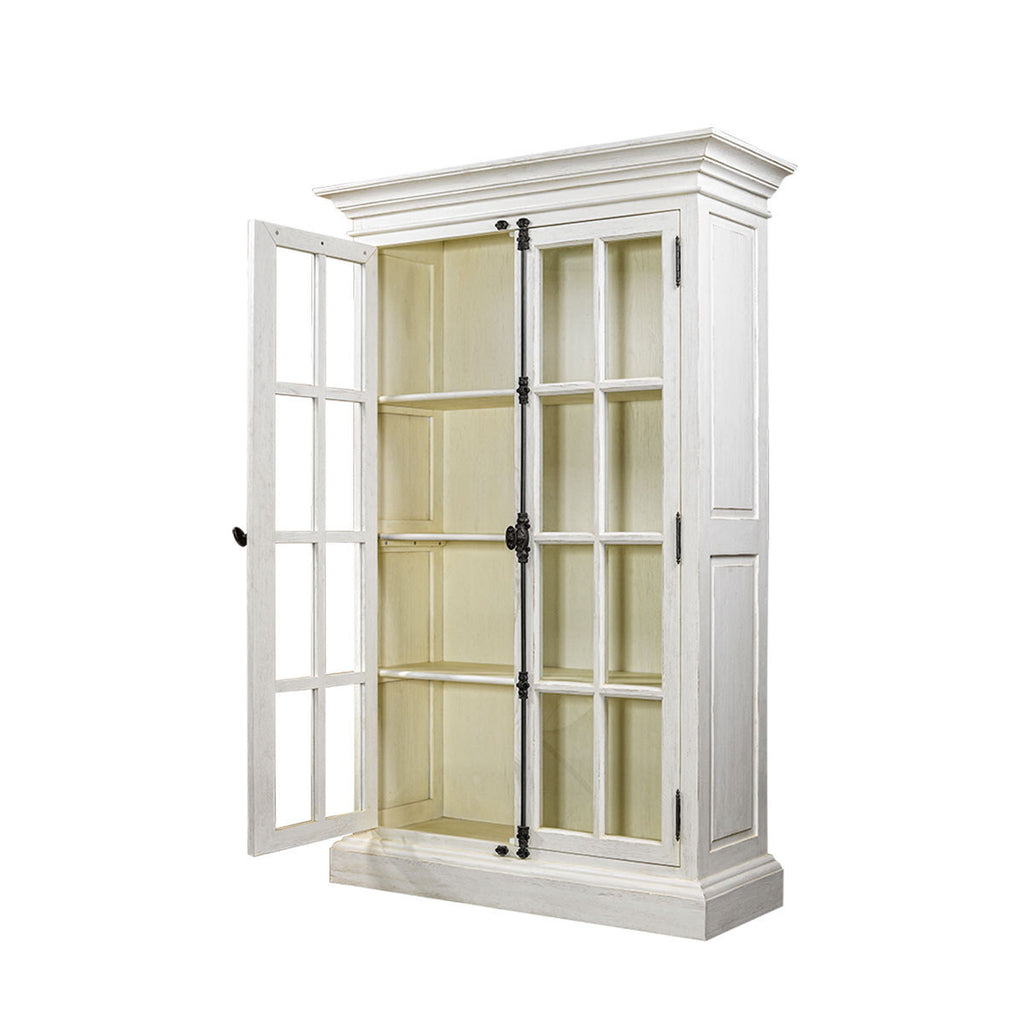 Curations Limited Old Casemen Vintage White Cabinet