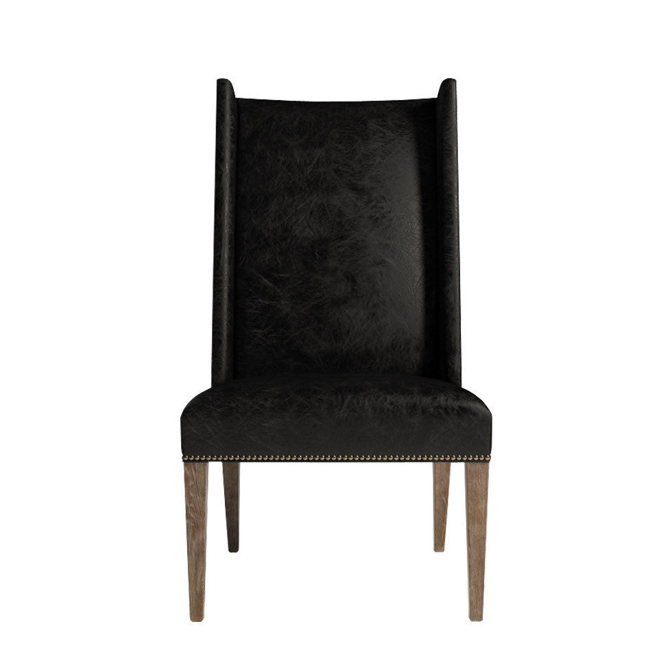 Curations Limited Bertrix Leather Chair