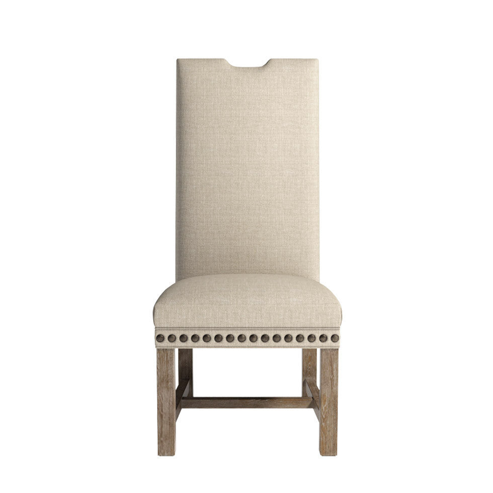 Curations Limited Lompret Linen Chair