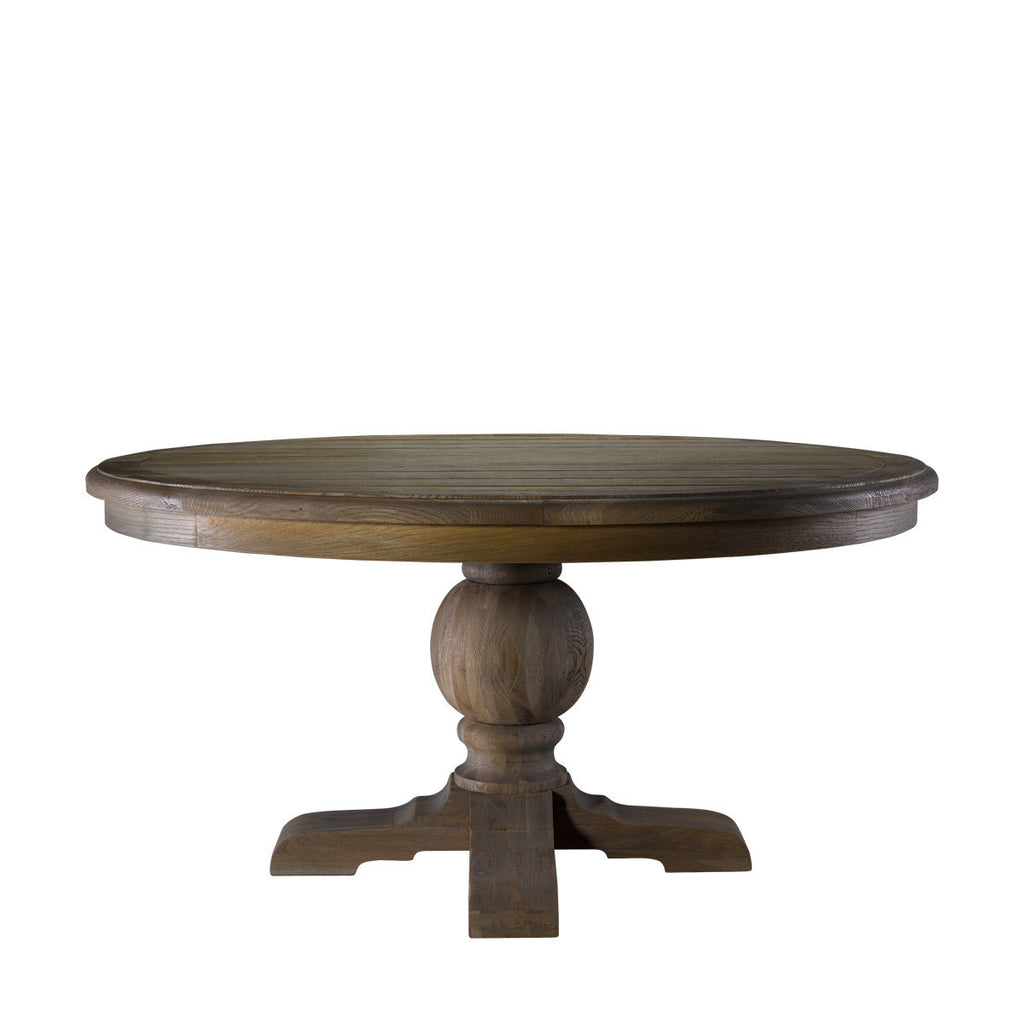 "Curations Limited 60"" Round Trestle Table"