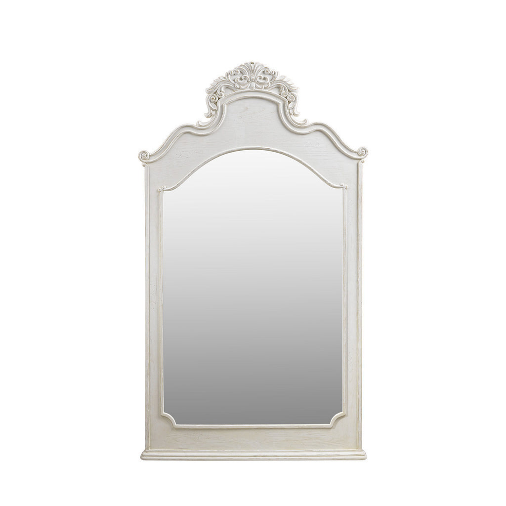 Curations Limited Istres Vintage White Mirror