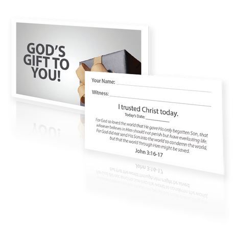 God's Gift to You ID Card - (25 Pack)