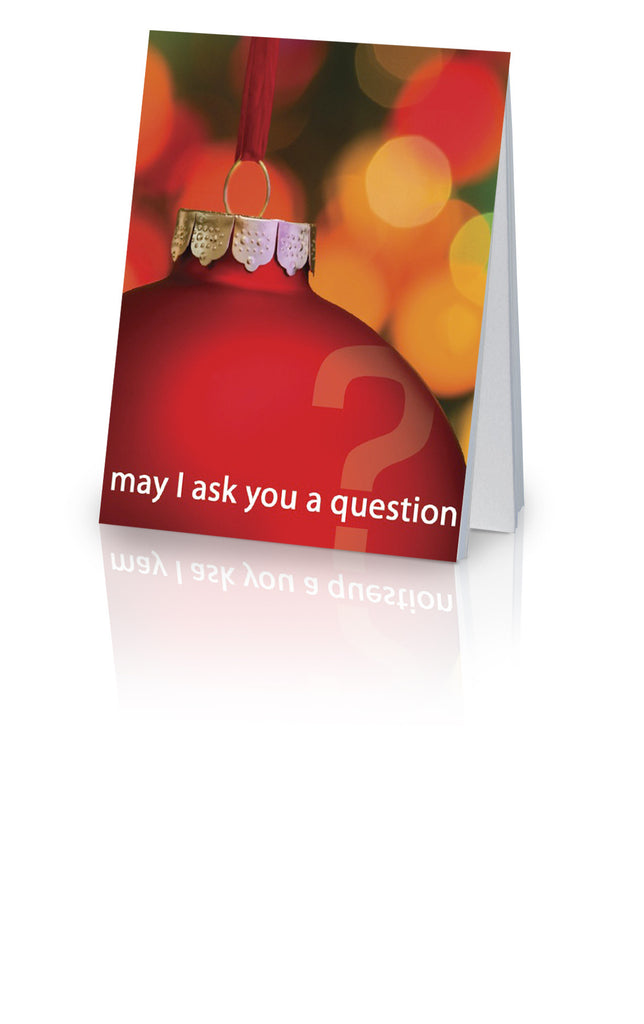 May I Ask You a Question? - Christmas (25 Pack)