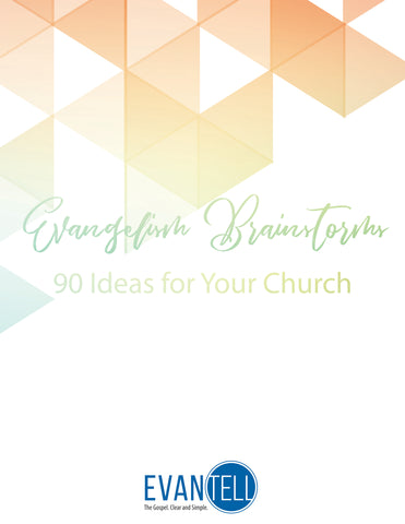Evangelism Brainstorms: 90 Ideas for Your Church (PDF eBook)