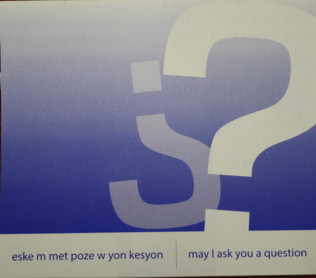 May I Ask You a Question? - Haitian Creole/English (25 Pack)