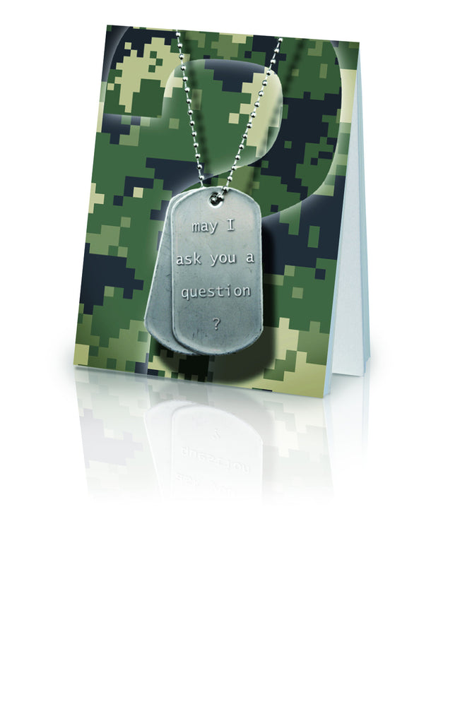 May I Ask You a Question? - Military (25 Pack)