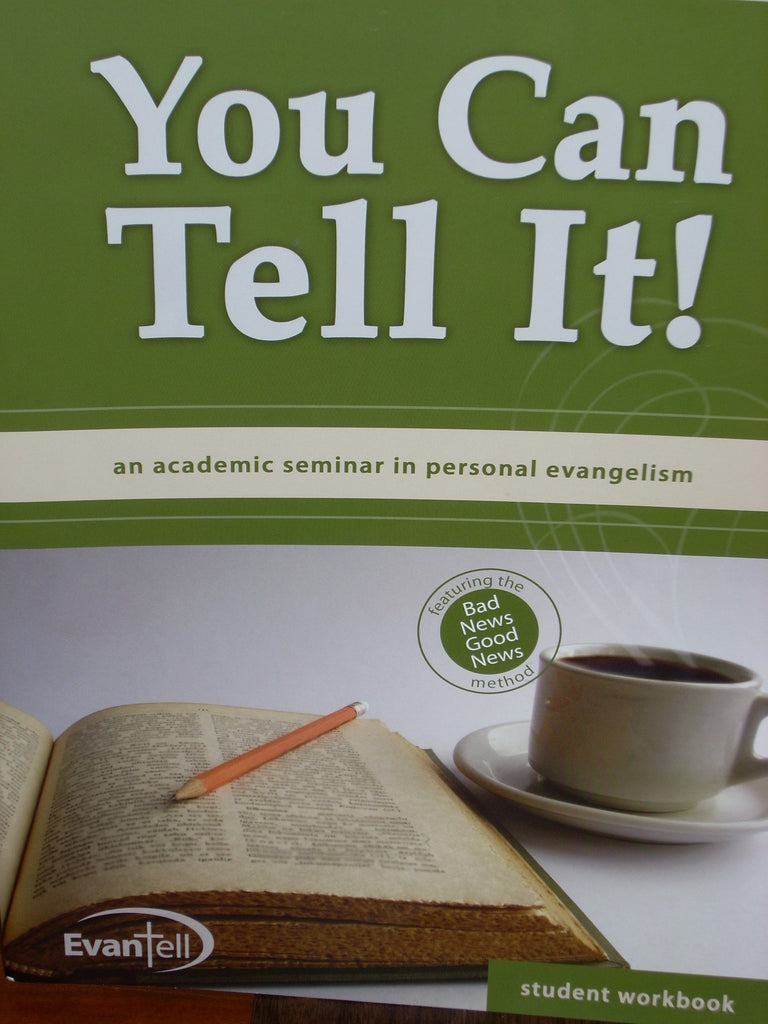 You Can Tell It! Academic Seminar Student Workbook