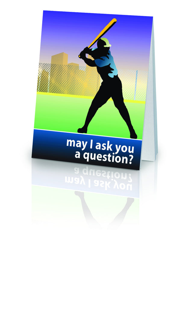 May I Ask You a Question? - Baseball (25 Pack)