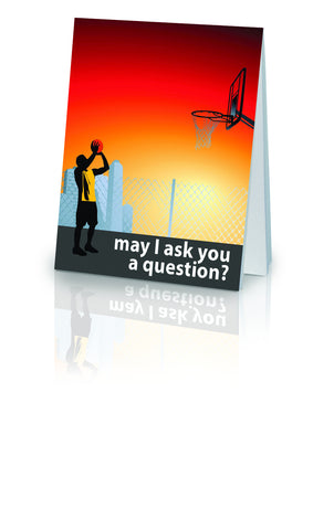 May I Ask You a Question? - Basketball (25 Pack)