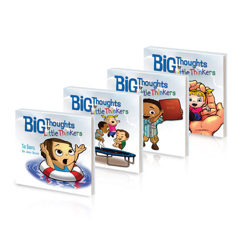 Big Thoughts for Little Thinkers, 4 Book Series