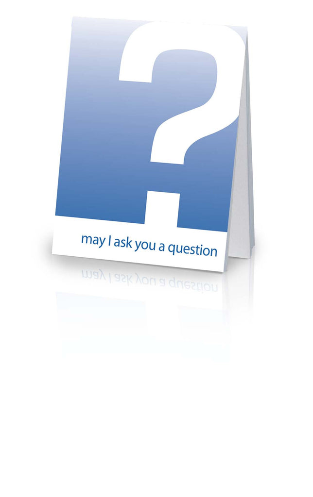 May I Ask You A Question? - Blue KJV (25 Pack)