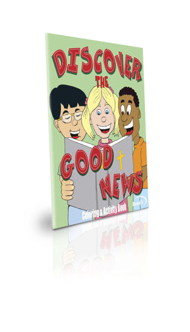 Discover Good News Coloring Activity Book - GREAT PRICE!