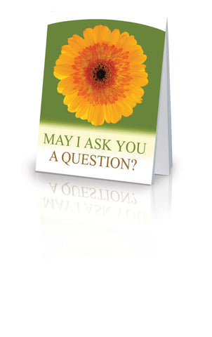 May I Ask You a Question? - Daisy (25 Pack)