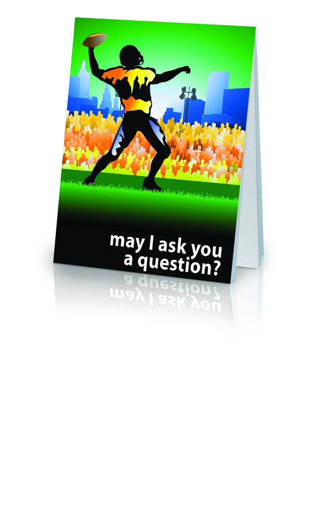 May I Ask You a Question? - Football (25 Pack)