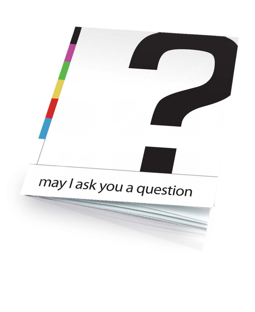 May I Ask You a Question? - Full Color English (25 Pack)