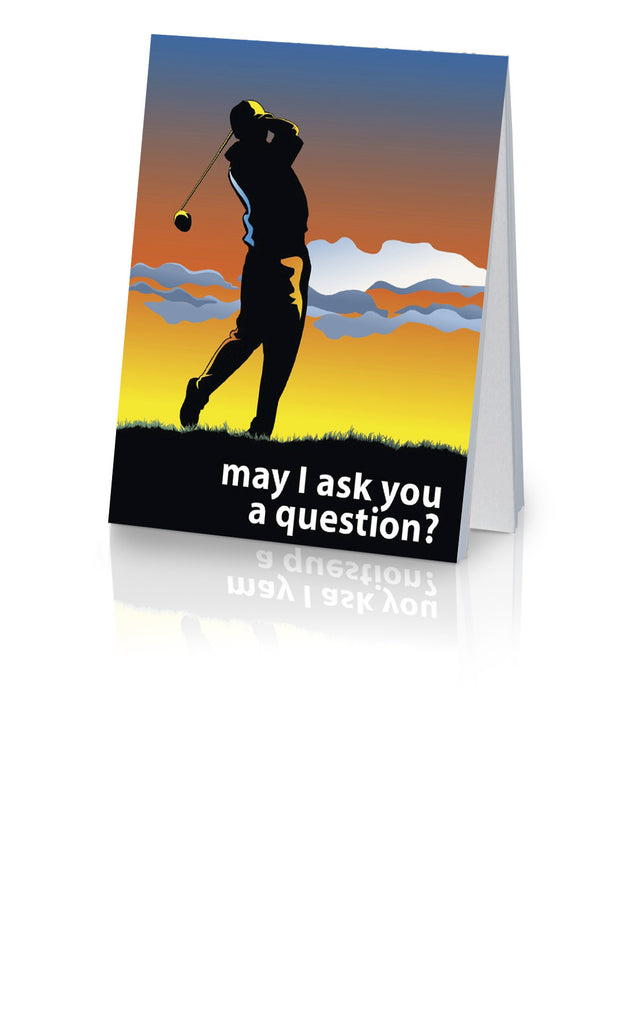 May I Ask You a Question? - Golf (25 Pack)