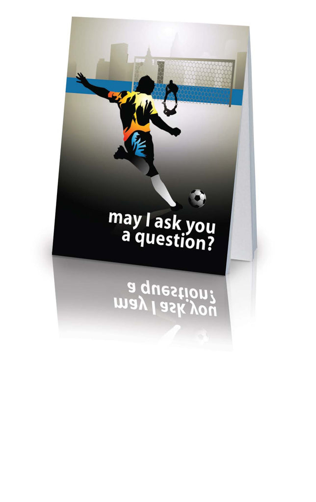 May I Ask You a Question? - Soccer (25 Pack)