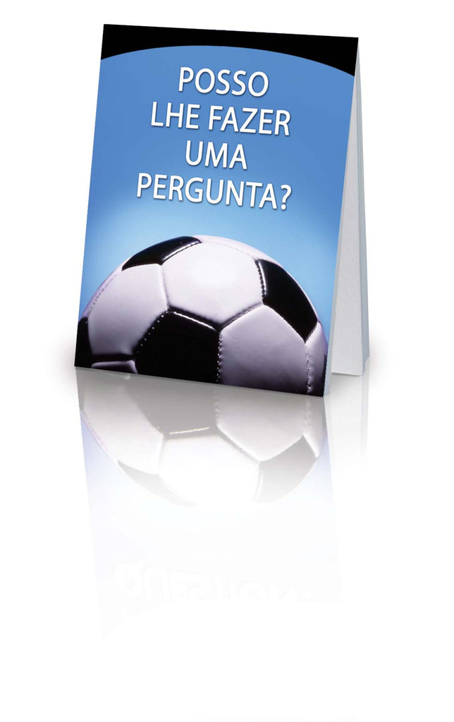 May I Ask You a Question? - Portuguese Soccer (25 Pack)