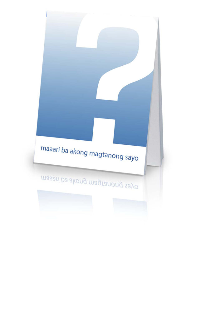 May I Ask You a Question? - Tagalog (Philippines) (25 Pack)
