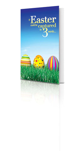 If Easter Could be Captured in Three Words, What Would They Be?-(25 Pack)