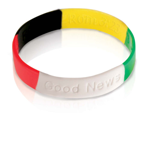 Good News Wristbands - Youth (English) (5 Pack)