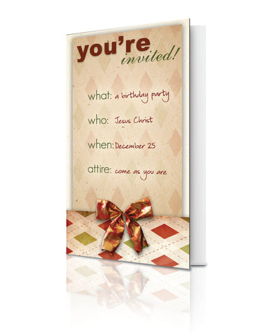 You're Invited! (Christmas) - (25 Pack)