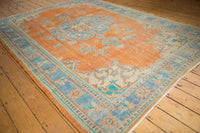 Vintage Distressed Oushak Carpet / ONH item 6578 Image 2