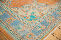 Vintage Distressed Oushak Carpet / ONH item 6578 Image 3