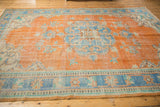 Vintage Distressed Oushak Carpet / ONH item 6578 Image 5
