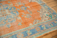 Vintage Distressed Oushak Carpet / ONH item 6578 Image 6