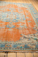 Vintage Distressed Oushak Carpet / ONH item 6578 Image 7