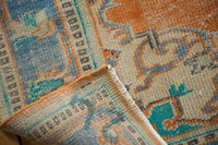 Vintage Distressed Oushak Carpet / ONH item 6578 Image 9