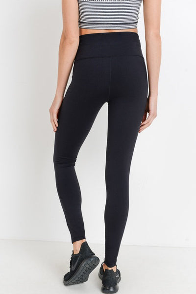 Black High Waist Workout Leggings
