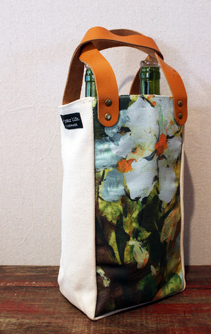 Housemade Dogwood Double Wine Tote