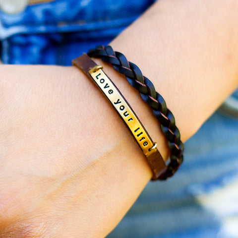 Housemade Love your Life Bracelet