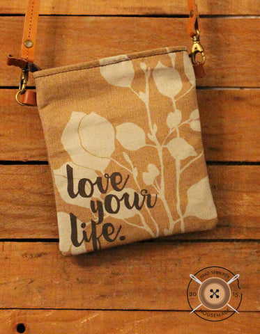 Love Your Life Hip Bag_gray