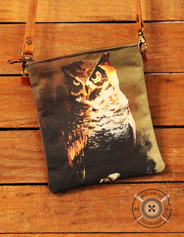 Owl Hip Bag
