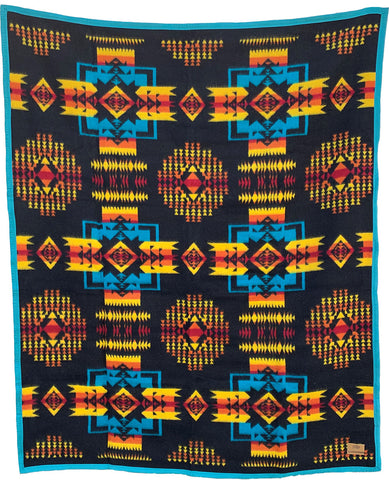 Boy Chief Blanket – Black