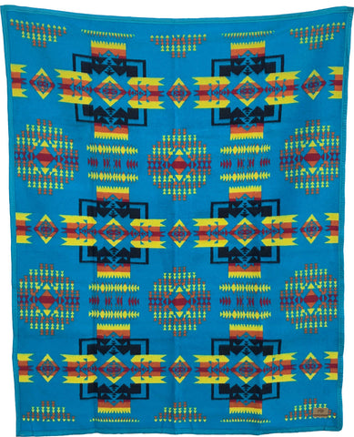 Boy Chief Blanket – Turquoise