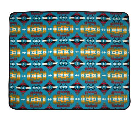 Canyon Turquoise Throw