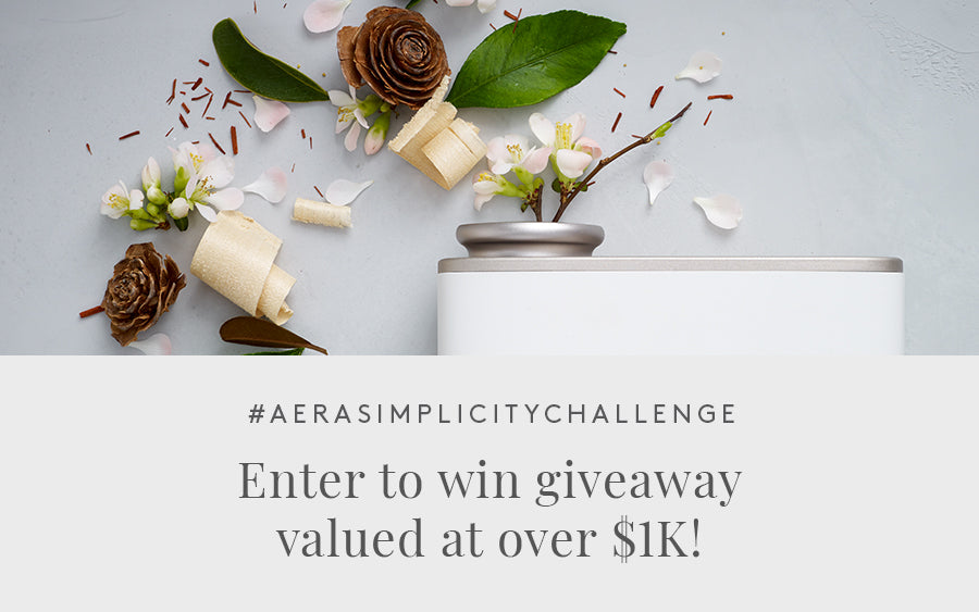 The Aera Simplicity Challenge + Giveaway
