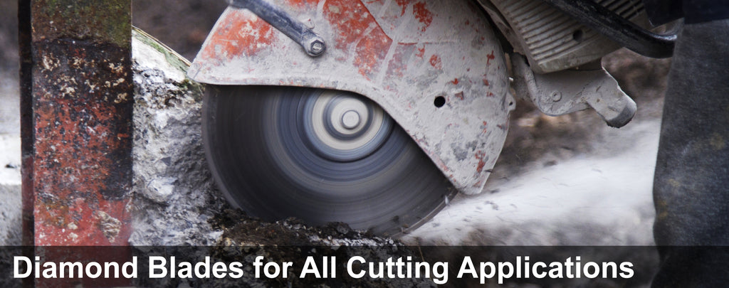 A Complete Line of Diamond Blades for all Cutting Applications