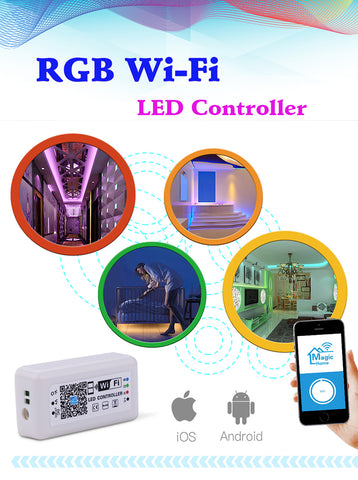 RGB-WIFI LED Strip Controller
