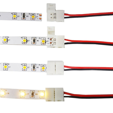 conecting wires 3528 led strip