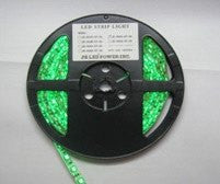 12V LED Strip Lights ~ 12V RGB LED Light Strips ~ 3528 RGB ~ 3528 RGB Reel Only - NovaBright Weatherproof 12V UL Green Super Bright Flexible 19LM LED Strip Light Reel Only