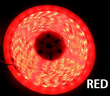 12V LED Strip Lights ~ 12V Single Color Light Strips ~ 5050SMD Single Color ~ 5050 Single Color LED Reel Only - NovaBright 5050SMD Red LED Strip Light 16 Ft Reel 150 LED Reel Only
