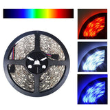 24V LED Strip Lights - 24V 5050 Color Changing RGB Super Bright LED Strip Light 16 Ft Reel 150 LED Kit