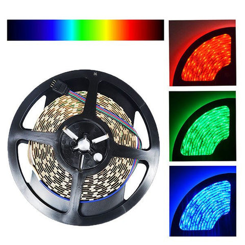 24V LED Strip Lights;UL Approved Strips - NovaBright UL Approved 24V 5050SMD Color Changing RGB Super Bright LED Strip Light Reel Only IP20