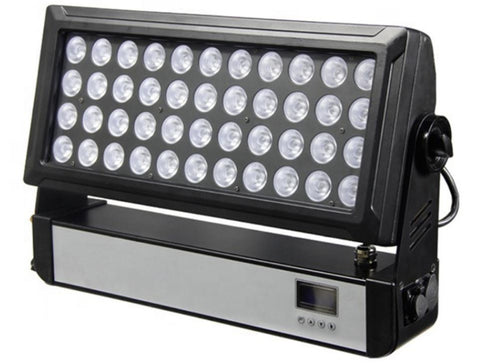 NovaBright NB-450WT IP65 Waterproof Outdoor 450W LED Wash Light 44*10W  RGBW 4IN1 25,35,45 Degree Beam Angle DMX